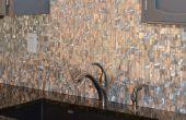 Bricolage : comment installer mosaïque murale tuiles métalliques (acier inoxydable, aluminium,..)