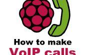 Comment faire des appels VoIP de Raspberry Pi