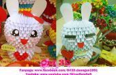 Comment faire Origami 3D lapin Cony