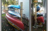 Kayak/canot Rack + stockage de bois