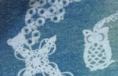 Cyanotypes sur tissu