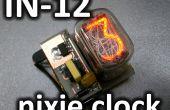 IN-12 nixie clock