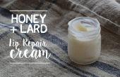 Le miel & Lard crème réparatrice pour les lèvres