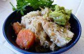 Vert Chili poulet (un Pot)