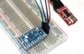 Programme Arduino Mini 05 avec FTDI Basic