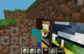 Minecraft PE Secret mur Astuce