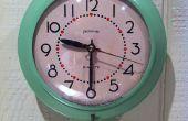 Renouant avec une horloge Vintage