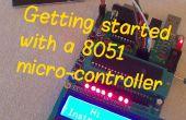 Mise en route avec un microcontrôleur 8051