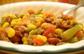 Viande bovine saine et ragoût de légumes