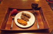 ÉMAILLÉS de RICOTTA pain de viande aux tomates et au WILD CHERRY BRANDY