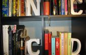 Serre-livres de la bibliothèque de recherche