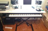 Coulissants E.Piano/Keyboard Stand pour DAW