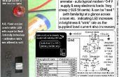 Single LED « ampèremètre » - se sont ENFUIS basé.