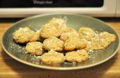 Biscuits aux amandes de gâteau au pavot
