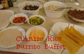 Coriandre, Burrito riz Buffet : Bricolage Chipotle