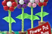 Comment faire le gâteau de Pot de fleur pop