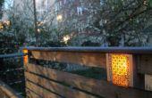 Construit en basse tension éclairage de clôture