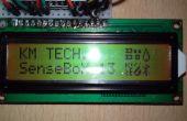 Boîtier du capteur SenseBox 13-Arduino