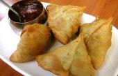 Fried délicieux Samosa