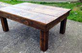 Faire une Table basse en bois de palette recyclée