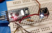 Facile Arduino Pro Mini TV-B-Gone déguisé