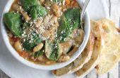 Haricot blanc italien épicé & saucisse soupe
