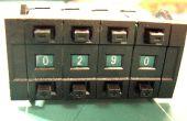 Comment faire pour lire binaire/hexadécimal molette avec un microcontrôleur AVR