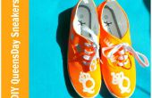 DIY Queen' s Day Sneakers tutoriel