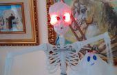 Squelette d'Halloween Arduino