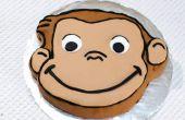 Faire un gâteau de George curieux