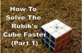 Comment résoudre le Rubiks Cube Faster (partie 1)