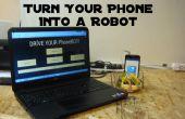 Transformez votre téléphone en un Robot
