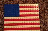 Drapeau américain LEGO