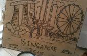 Solar Singapore graver Art