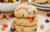 Beurre d'arachide double puce Pudding Cookie