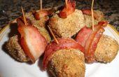 Mini pains de viande Bacon enveloppé