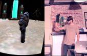 Le projet de l'Oculus carton: Bricolage virtuel réalité Gun avec suivi à l'aide d'Arduino et la ESP8266