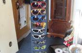 Support de lunettes de soleil