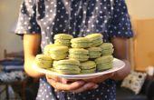 Macarons thé vert Matcha | Josh Pan