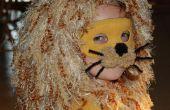 Costume d'Halloween de lion.