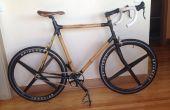 Vélo carbone de bambou