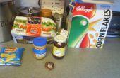 Beurre d'arachide et la gelée - crise cardiaque Triple Decker sur une assiette !