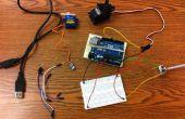 Arduino + Servo + potentiomètre