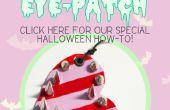 Mode d'emploi de Halloween : créer votre propre bonbons bandeau sur le œil avec un bord: 3