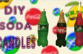 Faire des Mini Coca Cola & Sprite bougies bougies soude bricolage