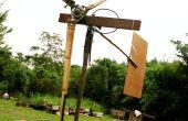 Vent des aubes de Turbine de bambou