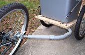 Remorque à vélo bricolage