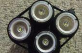 1000 lumens + vélo lumière de lampes de poche 7 $