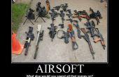 Comment choisir un pistolet d'airsoft.