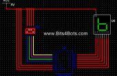 Compteur manuel binaire de 4 bits: NI Multisim (vidéo incluse)